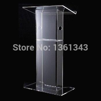 Clear acrylic podium Cheap beautiful clear acrylic furniture .acrylic podium Pulpit Lectern acrylic podium фото