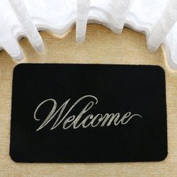 GreCute Front Doormat Welcome Scraper Entrance Door Mat GRF001