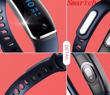 Smartch V8 смарт-браслет Приборы для измерения артериального давления Часы Фитнес трекер Смарт-браслет сердечного ритма Мониторы смарт-браслет для iOS и Android