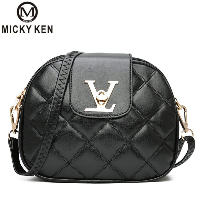 Famous Brand Leather Messenger Bags Luxury Shoulder Bag Quilted Designer Handbags Women Black Bag Vintage Small Crossbody Bags huawei p8 lite white