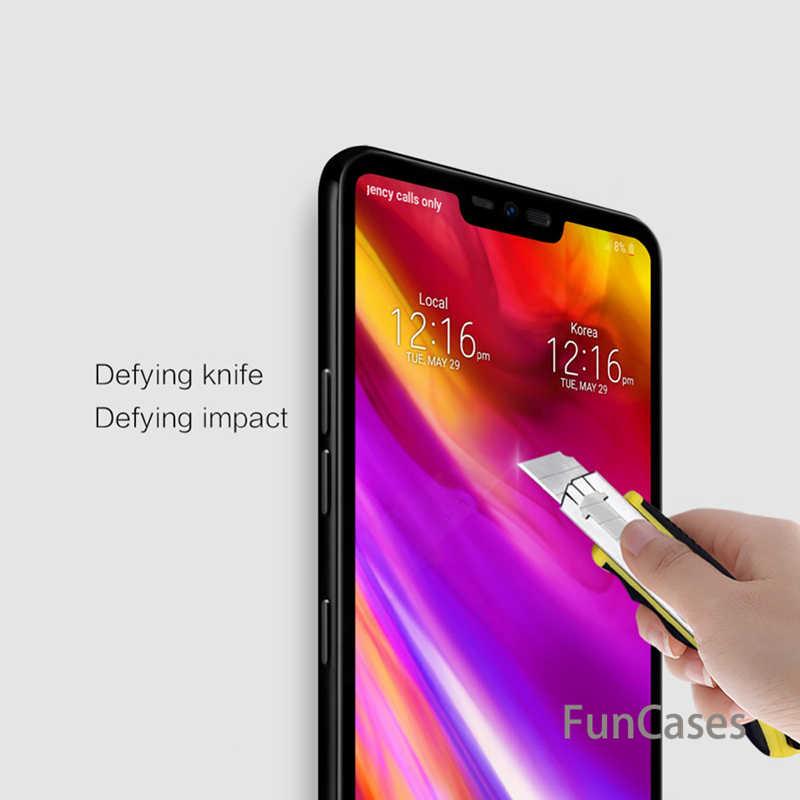 Vetro di protezione Per LG G7 thinq G6 K8 K10 2018 V20 V30 Della Copertura Della Cassa In Vetro Temperato Per LG G7 K8 k4 K7 K10 2017 Q6 G 7 Del Telefono Film
