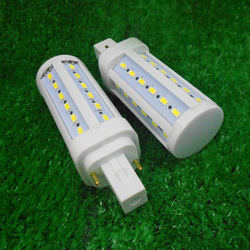 5pcs/ lot g24 led bulb g24d led g24d-1 g24d-2,g24d-3 5630 5730smd 5W 7W 9W 5730 real power
