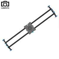 31 5 80cm Carbon Fibre DSLR Camera Bearing Track Dolly Video Slider Rail System For Stabilizing
