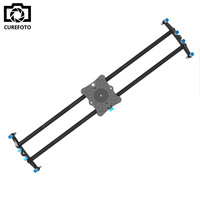 31.5/80cm Carbon Fibre DSLR Camera Bearing Track Dolly Video Slider Rail System for Stabilizing Photograph Movie Film Making