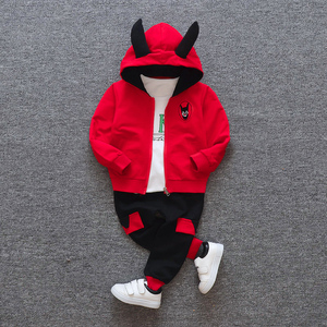 Image 3 - New products Baby clothes Childrens clothing suit  Cotton products for Boys  Three piece sets Spring and autumn Kids sets
