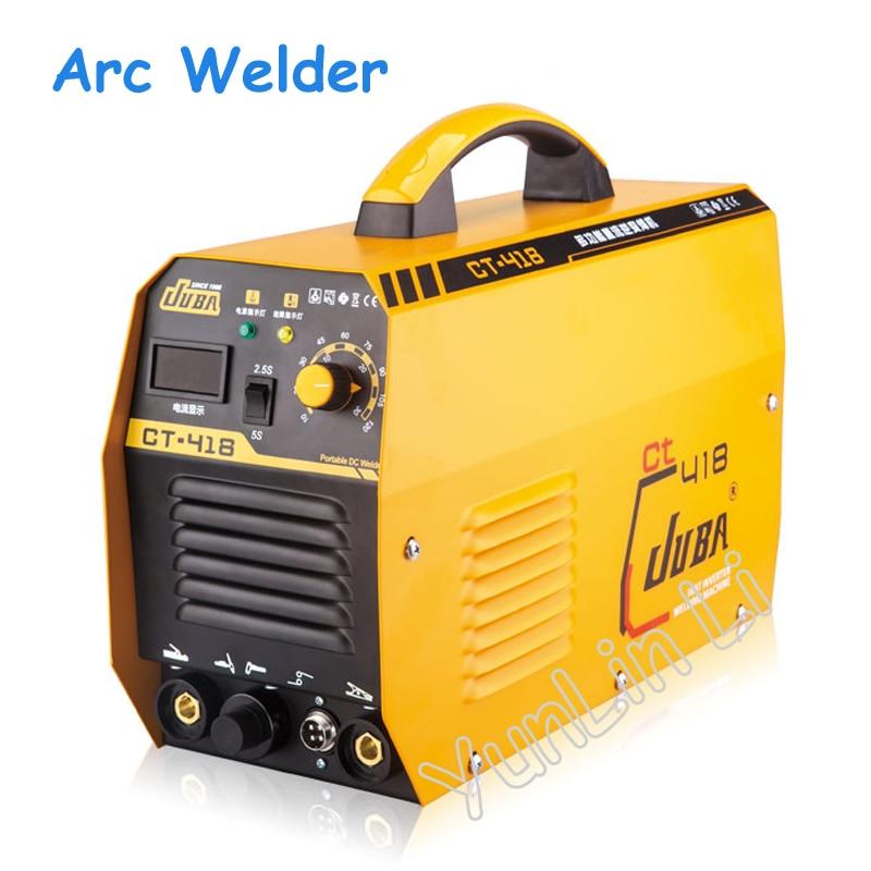 Arc Welder Inverter IGBT DC 3 in 1 TIG/MMA Plasma Cutting Machine 220V Portable Welding Machine CT 418
