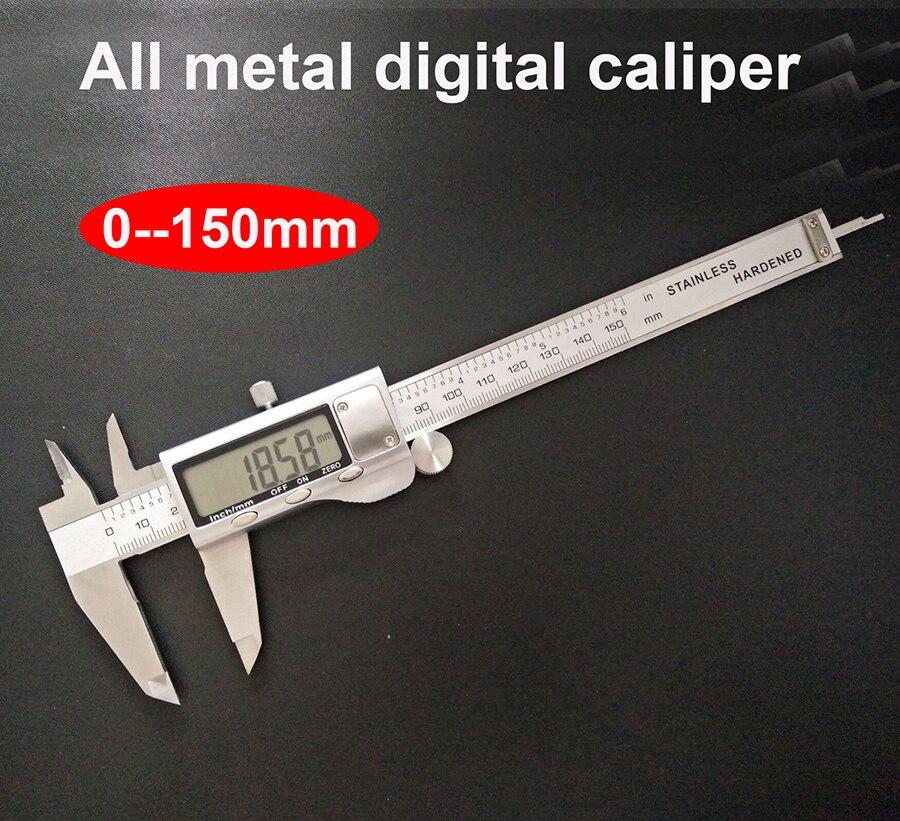 Digital Vernier Caliper Stainless Steel Caliper 0 150mm 6