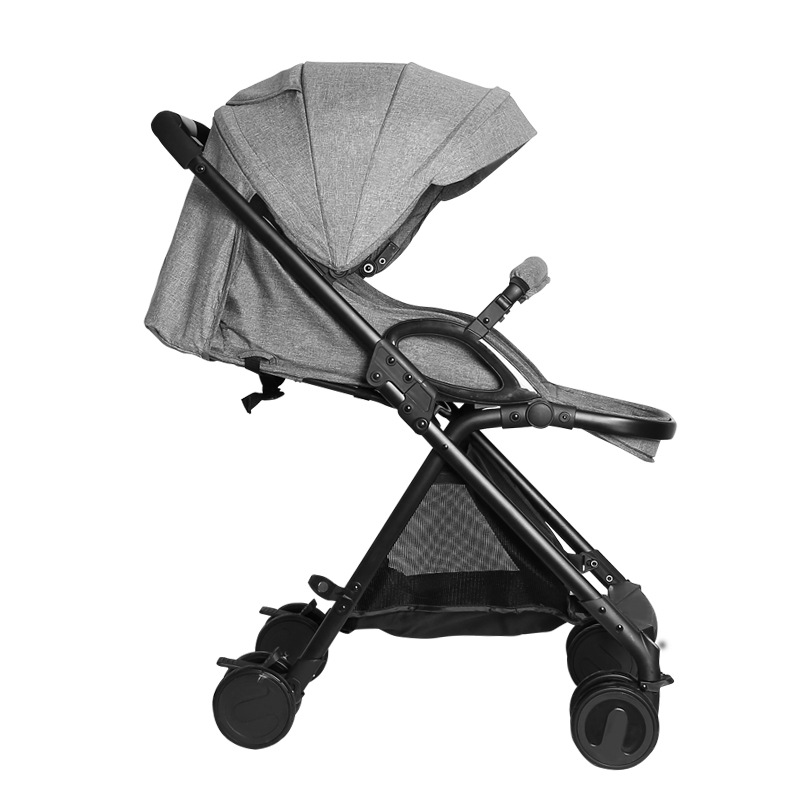 5.9Kg Lightweight Baby Stroller High Landscape Four-wheel Trolley Folding Portable Baby Stroller Traveling Pram for Newborns5.9Kg Lightweight Baby Stroller High Landscape Four-wheel Trolley Folding Portable Baby Stroller Traveling Pram for Newborns