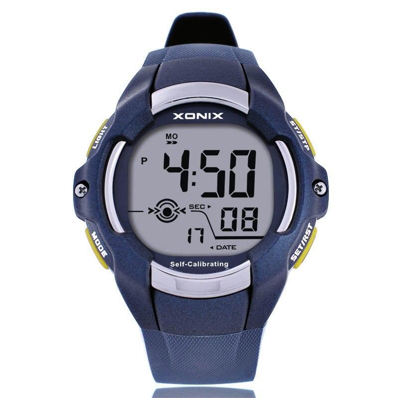 Reloj deportivo para hombre Digital Radio Wave auto calibrado resistente al agua 100 m correa de silicona multifunción natación al aire libre reloj de pulsera CGT