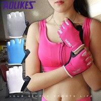 Nowy Kobiety/Mężczyźni Siłownia Budowy Ciała Szkolenia Sport Fitness Podnoszenie Ciężarów Rękawice Męskie Rękawice Half Finger Gloves Ćwiczenia kobiety