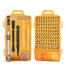 Отвёртки набор 110 в 1 наборы для ухода за кожей Multi-function компьютер PC мобильный телефон цифровые электронные устройства ремонт фреза дропшиппинг