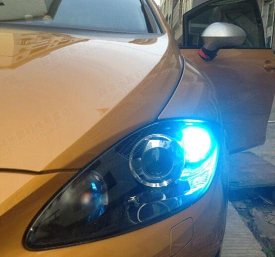 2 x High Power Led dagrijverlichting Geen Fout voor Seat LEON ...