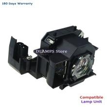 Big Discount ELPLP34 V13H010L34 Replacment Projector Bulb Lamp For EMP-62 EMP-62C EMP-63 EMP-76C EMP-82 EMP-X3 180 Days Warranty цена