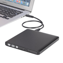 External Optical Drive USB 3.0 DVD Burner DVD ROM Player CD/DVD-RW Writer Recorder Portable Drives for Laptop Computer Mac pc