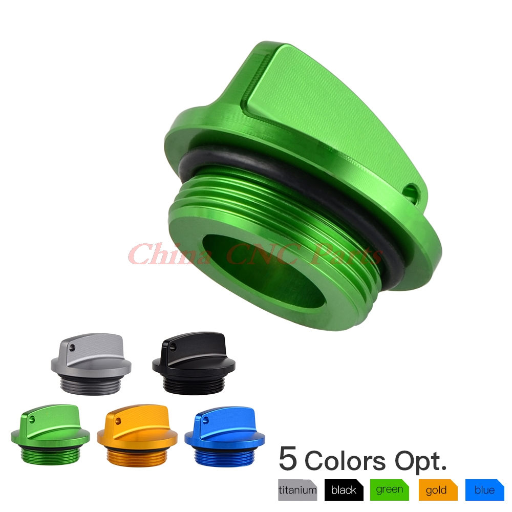 Motorcycle CNC Oil Filler Cap Plug For Kawasaki Ninja 250R 300 500R 600R 750R ZX10 ZX11 ZX12R ZX6R ZX9R ZX14R Z750 Z1000 VN900 motorcycle handlebars clip on for kawasaki zx6r 600cc zx9r 900cc 1998 2002 page 2