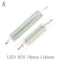 Newest 15W R7s J118 Led 118mm 360 Degree 7W 78mm Lampadas Led R7s Bulb J78 Replace
