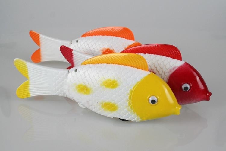 24 см мигающий движется рыба игрушка электрический петь песни рыбы подарок на день рождения w6570