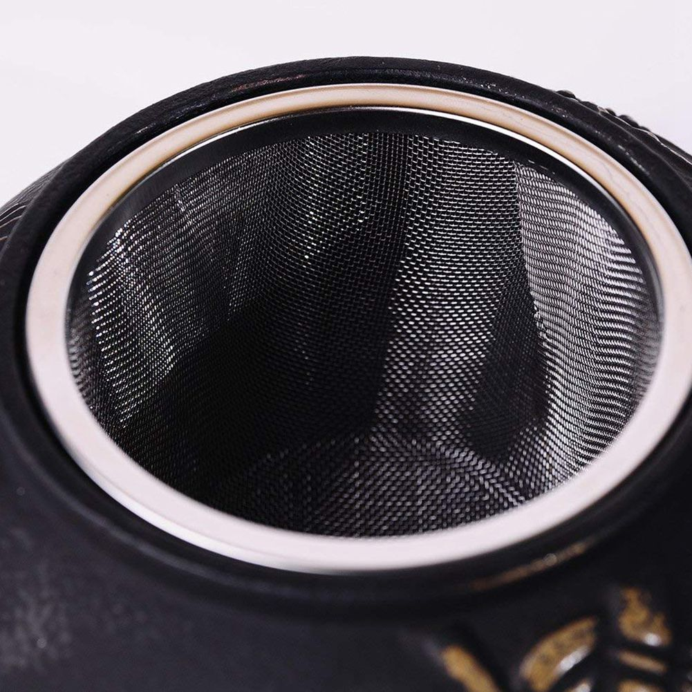 Chaleira de bule de ferro fundido japonês