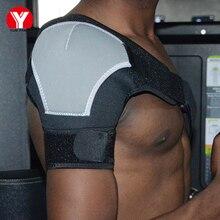 Adjustable Back Shoulder Support Belt Brace Man Harness Protection Guard Professional Pads Protector