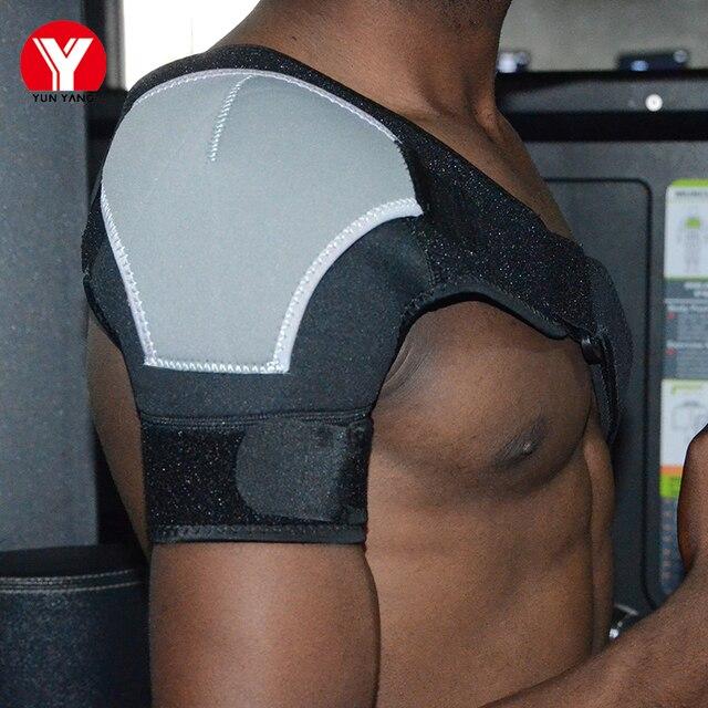 Adjustable Back Shoulder Support Belt Brace Man Harness Protection Shoulder Guard Professional Shoulder Support Pads Protector