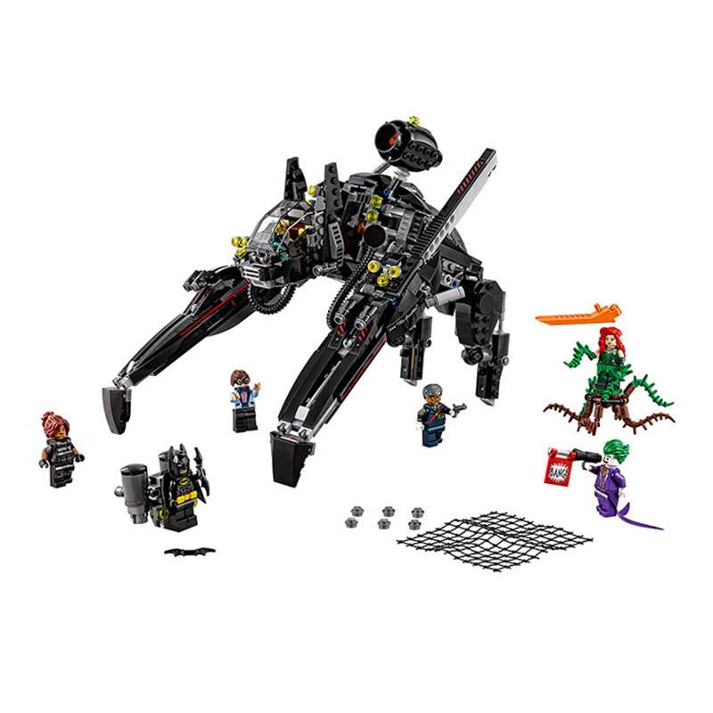 Lepin 70908 Pogo Bela 10635 Batman The Scuttler Super Heroes Marvel Avengers Building Blocks Bricks Compatible legoe Toys figures houses girl friends stephanie mia olivia andrea emma andrea blocks learning toy gift compatible with with friends gift