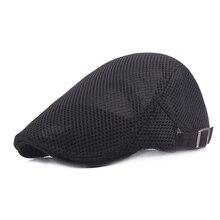 Dantel Erkekler güneş şapkaları Kapaklar Seyahat Serin Nefes Gölge  Bereliler Şapka Erkekler Ağ Erkek Şapkalar için 92d7e8285e