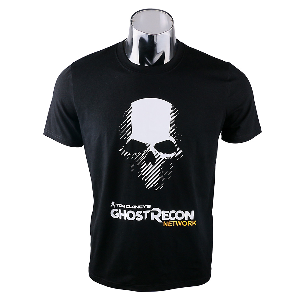 Cos Tom Clancy's Ghost Recon Wildlands Costume Cosplay T-shirt Men Tee Cotton Top Clothes Halloween Party Prop
