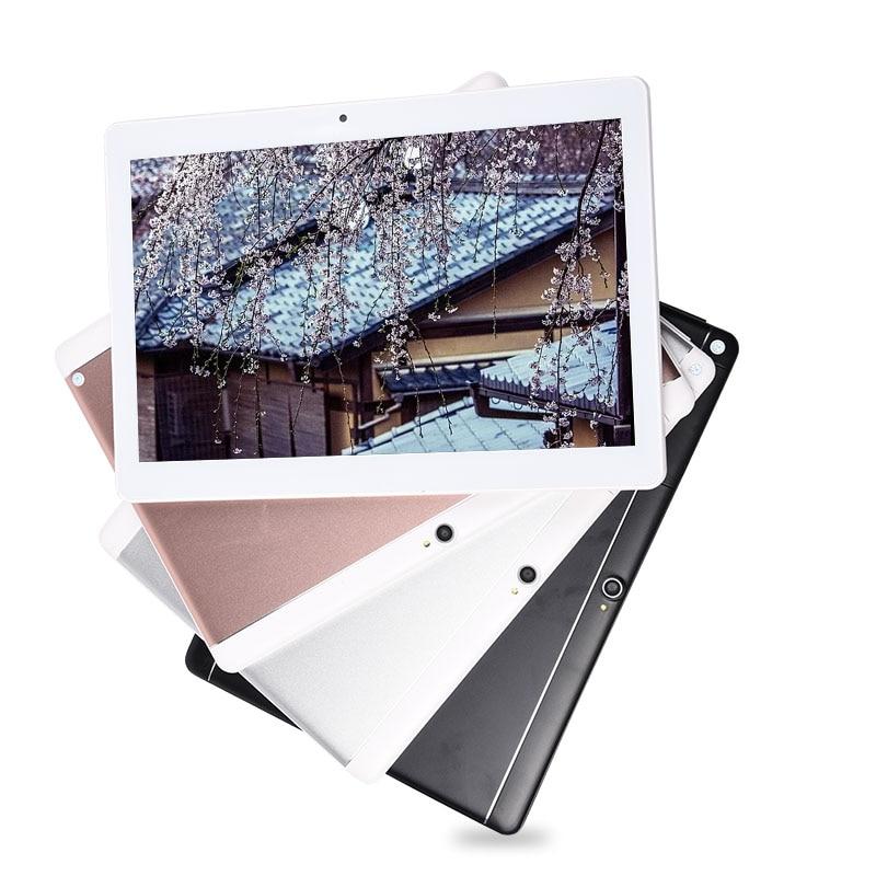 Nuevo 10,2 pulgadas 3G llamada de teléfono Android 7,0 Octa Core IPS 1920x1280 Tablet PC WiFi 4G + 64G 7 8 9 10 Tablet PC Android 4 GLTE Bluetooth