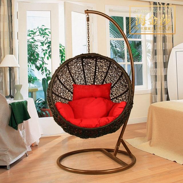 Rattan Chair Swing Hanging Basket Indoor Outdoor Sofa Double Balcony Furniture