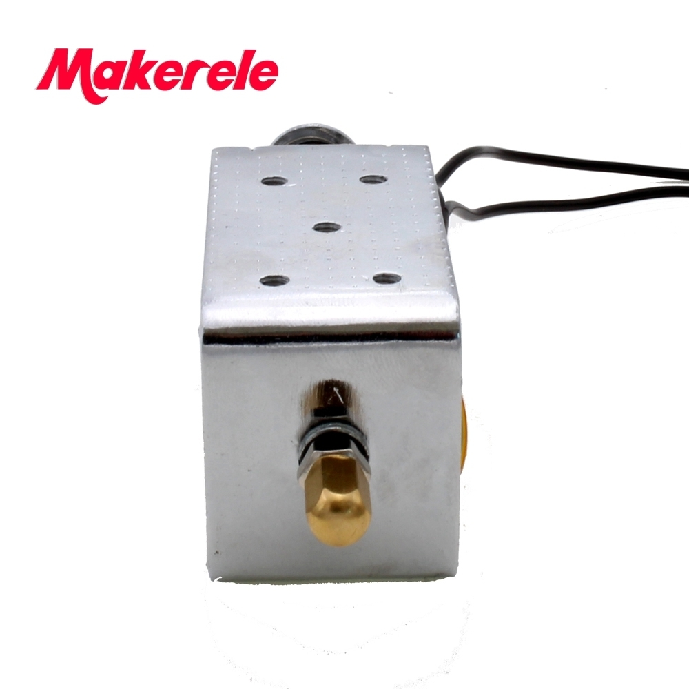 Купить с кэшбэком wire connecting electromagnet solenoid coil for circuit breaker and switchgear DC12/24/110/220V AC220V shunt coil