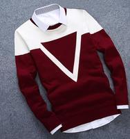 2019 новая дизайнерская теплая зимняя водолазка Homme модный мужской свитер мужской Повседневный хлопковый осенний мужской s свитер 3 Colos