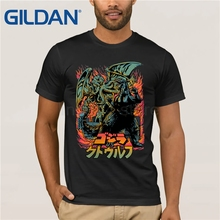 GILDAN Cthulhu 2019 fashion short t shirt printed Funny t-shirt men tops MR1297