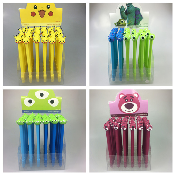 1 PC cartoon cute Monsters University action figure toys  Pikachu Mike James model pens for boys girls students dieting practices among ahfad university for women students