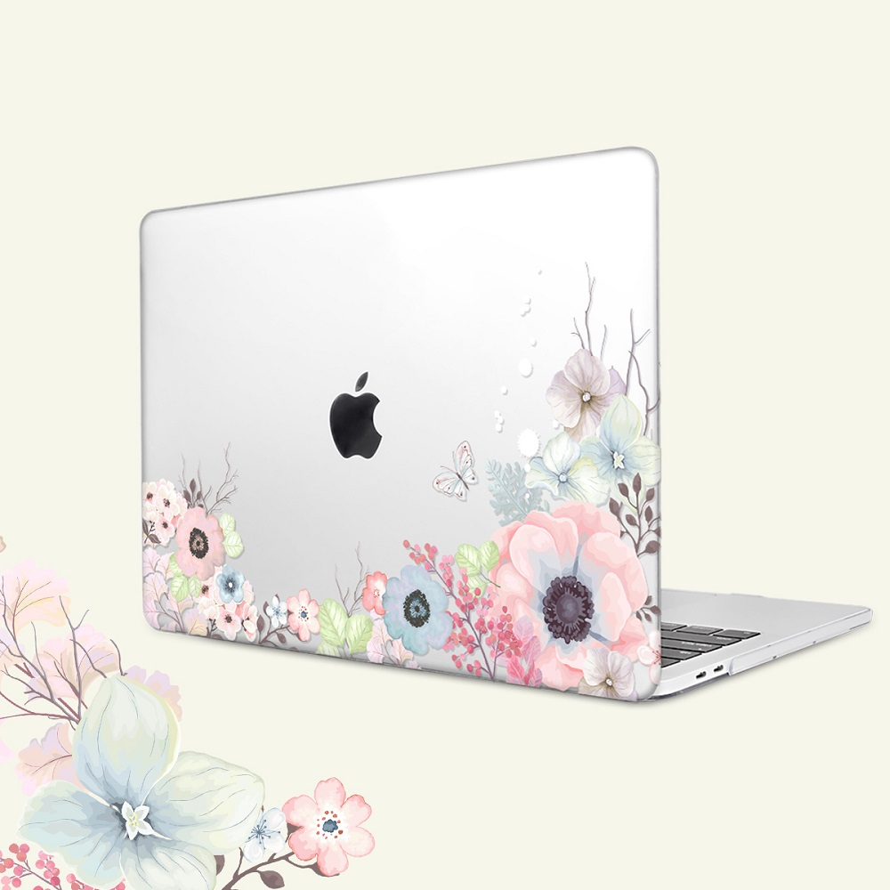 Floral Printing Hard Case for MacBook 114