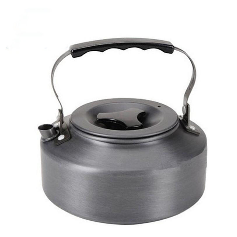 1.1 L hard super thick outdoor camping boiling water pot of coffee pot of portable aluminum teapot