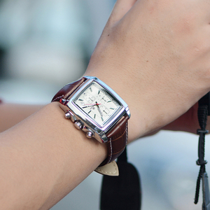 Image 2 - MEGIR mode montre décontractée pour homme de luxe militaire sport montres bracelet en cuir étanche Quartz montres mâle Relogio Masculino