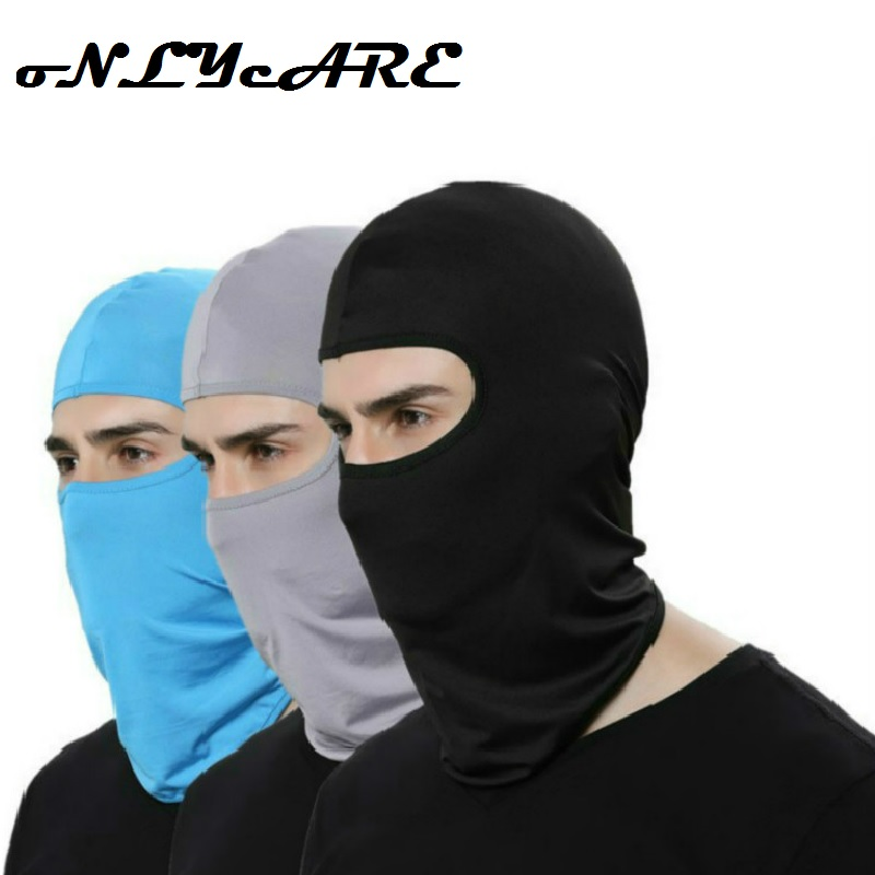 2019 New Upgrade Outdoor Sports Neck Motorcycle Face Mask Winter Warm Ski Wind Cap Police Cycling Balaclavas Face Tactical Mask