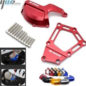Image 1 - S1000rr 모토 엔진 세이버 스테이터 케이스 가드 커버 슬라이더 보호 bmw s 1000rr hp4 k42 k46 2009 2010 2011 2012 2013 2014