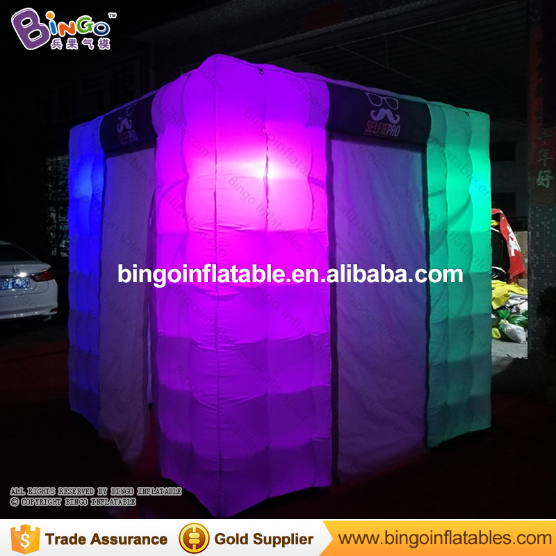 Wonderful Cube led inflatable Tent/Inflatable Trade Show House/ Inflatable Photo Booth Toy Tent  free shipping 3x3x2 4m inflatable photo booth cube inflatable photo booth led inflatable photo booth for sale