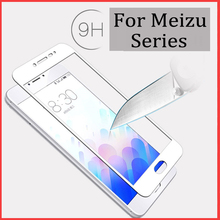 For Meizu M3s mini Tempered Glass Protecting Glass on Meizu M3 word M3 s min MX6 Professional 6 5 Case Display screen Protector Full Cowl Movie