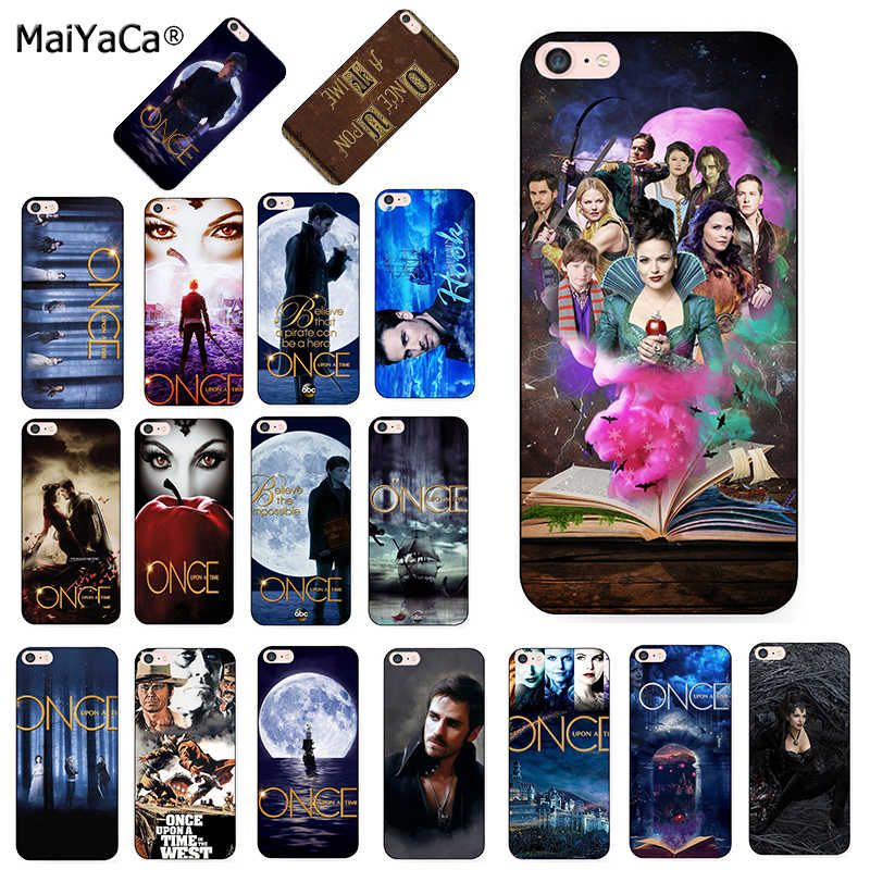 MaiYaCa Once Upon A Time Diy Luxury Protector สำหรับ iphone ของ Apple iphone 8 7 6SPlus X XS MAX XR 5S 11pro ฝาครอบกรณีสูงสุด