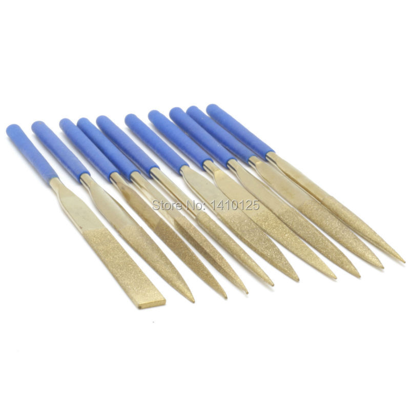 10 Pcs Diamond Needle File Diamond Cutting Tool Glass Ceramic Carbide Wholesale