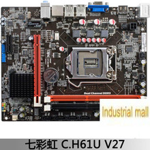 Colorful rainbow c.h61u v27 h61 motherboard belt hdmi g540 g630
