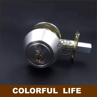 Stainless Steel Tubular Lever Door Locks / DeadBolt Invisible Locks,prevent lock picking free shipping european invisible black lever door prelude handle lock single cylinder deadbolt lock