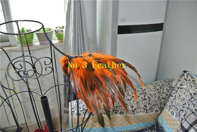 1 pair orange feder epaulette pad feder achselzucken schulter cape ...