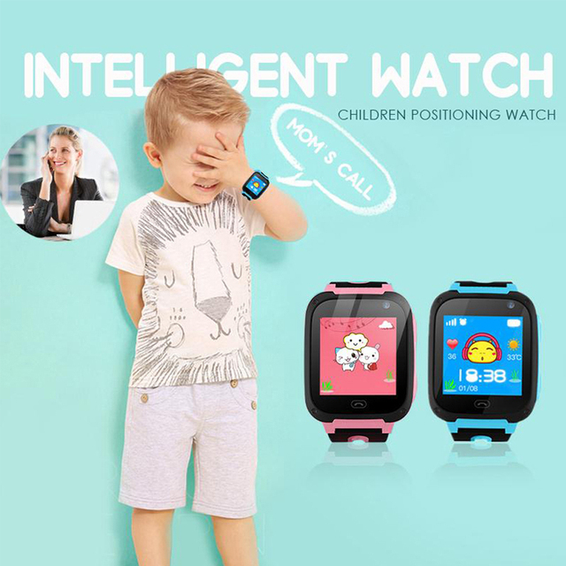 100% Original Waterproof S4 Smart Children Watch Camera LBS Monitor Positioning Dial SOS  Locator  Smart watch for Baby safe