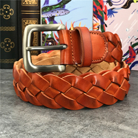 Braided Belt Men Luxury Genuine Leather Men Belt Ceinture Homme Wide Women Belt Ceinture Femme Belts For Women Strap MBT0508