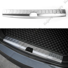 1PCS Stainless steel Car Rear Trunk Interior Door Sill Plate Guard Plate Protector Cover for Chevrolet Equinox 2017+ Car Styling