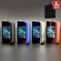 Original Teslacigs Touch 150 TC Mod Tesla 150W Touch Box Mods Vapor Touch Screen Controlled and Adjusted Electronic Cigarettes