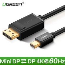 Ugreen Thunderbolt 1/2 Mini Displayport to DisplayPort 1.2 Cable Adapter Mini DP to DP Converter for Macbook Pro Air Projector